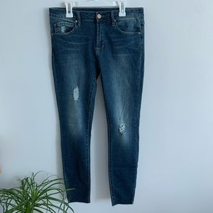 Articles Of Society - Dark Wash Skinny Jeans